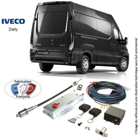 Anti-theft Locks + remote control for Iveco DAILY commercial ... on step ten worksheet daily, cool to do list daily, trucks daily,